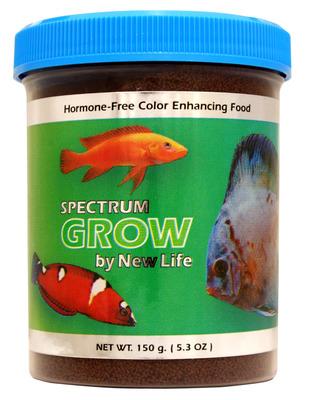 New life spectrum grow fish food 140g the aquarium shop for New life spectrum fish food