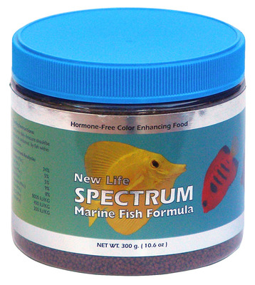 New Life Spectrum Marine Fish Regular Formula Food 300g