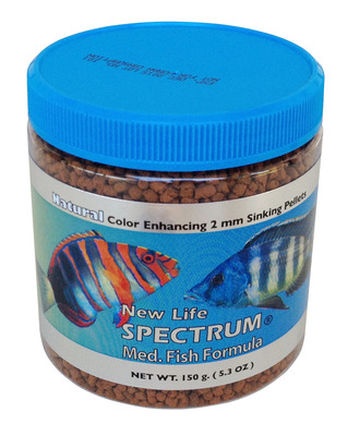 New life spectrum medium fish formula food 150g the for New life spectrum fish food
