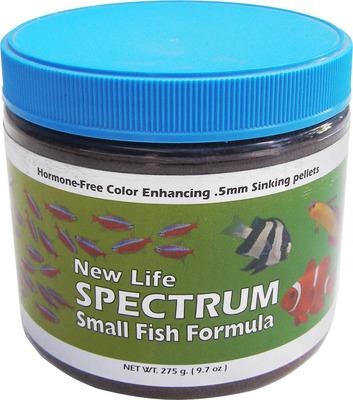New life spectrum small fish formula fish food 275g the for New life spectrum fish food