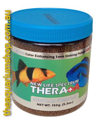 New life spectrum thera a regular formula fish food 150g for New life spectrum fish food