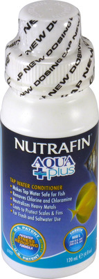 Nutrafin Aqua Plus Tap Water Conditioner 120mL