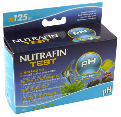 Nutrafin Fresh and Saltwater pH Test Kit High Range