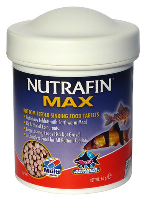 Nutrafin Max Bottom Feeder Sinking Tablet Fish Food 60g