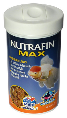 Nutrafin Max Goldfish Flake Fish Food 77g