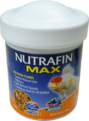 Nutrafin Max Goldfish Flake Fish Food 19g