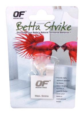 Ocean free betta strike reflect mirror the aquarium shop for Betta fish mirror