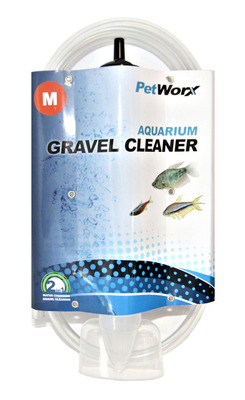 PetWorx Aquarium Gravel Cleaner Medium