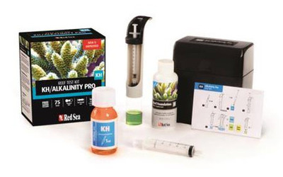 Red Sea KH Alkalinity Pro Testing Kit 75 tests