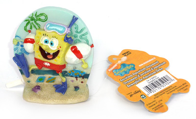 Penn-Plax Spongebob Squarepants Aerating Ornament Spongebob Diver