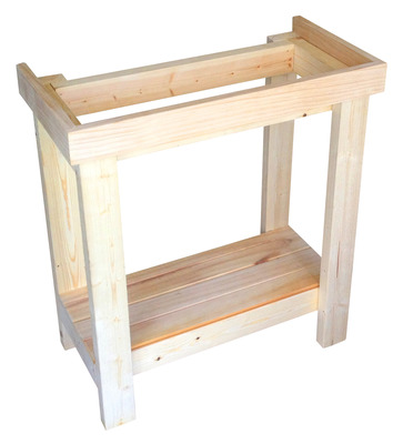 Standard wooden aquarium stand 24 x 12 inches the for Wood fish tank stand