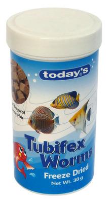 Todays Tubifex Worms 30g The Aquarium Shop Australia