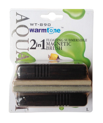 Warmtone Floating Magnet Fish Tank Cleaner Large WT-890 2 in 1