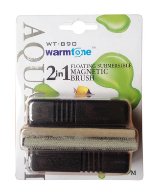 Warmtone Floating Magnet Fish Tank Cleaner Medium WT-890 2 in 1
