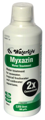 Waterlife Myxazin Broad Spectrum Fish Medication 500mL Professional