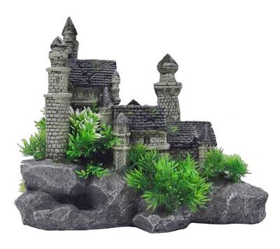 castle ornament for fish tank - 100 images - aquarium ...