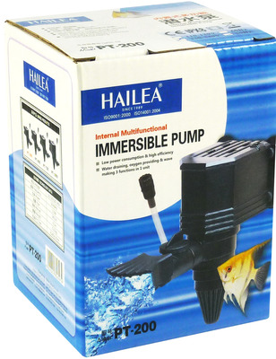 Hailea Aquarium Submersible Pump PT-200