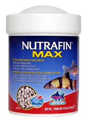 Nutrafin Max Bottom Feeder Sinking Tablet Fish Food 120g