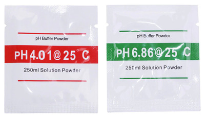 pH Test Meter Calibration Solution Powder 4.01 and 6.86