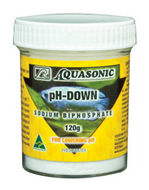 Aquasonic pH Down Powder 120g