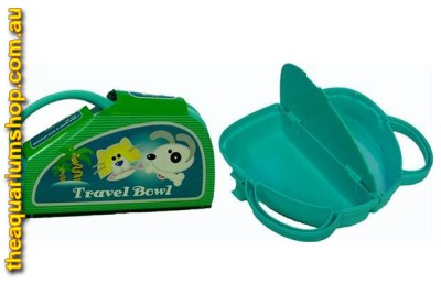 Portable Food and Water Dispenser for Dog and Cat Blue