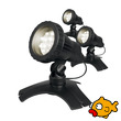 AQUAPRO 12 LED Set of 3 Warm White Pond or Garden Lights