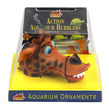 Action Aquarium Bubblers Giraffe Ornament