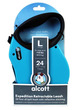Alcott Adventure Retractable Dog Leash Blue XLarge 7.3m