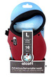Alcott Adventure Retractable Dog Leash Red Large 4.8m