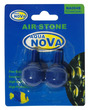 Aqua Nova Aquarium Air Stone Ball Blue 2.2cm dia