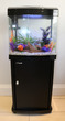 Aqua Nova Curved Front Glass Fish Tank Including Stand NT-480
