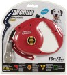 Avenue Retractable Dog Lead Medium Red 5m