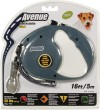 Avenue Retractable Dog Lead Small Grey 5m