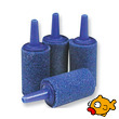 Blue Aquarium Air Stone Cylinder 15x25mm length - 25 Pack
