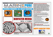 CerMedia Marine Pure MP2C Biofilter Media Carton 2inch cubes 1/2 cubic foot