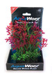 Deluxe Bunch Plant (6inch) Green grass/Purple flowering bush