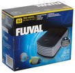 Fluval Q2 Aquarium Air Pump Single Outlet with adjustable flow control