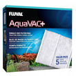 Fluval AquaVac+ Replace Filter Pad 5 Pack