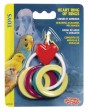 Living World Bird  Heart Ring of Rings Toys
