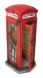 Old Phone Box Fish Tank Ornament 8 x 9.5 x 18.5cm h