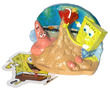 Penn-Plax Spongebob Squarepants Resin Replica Spongebob and Patrick