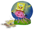 Penn-Plax Spongebob Squarepants Resin Replica Spongebob - with jelly fish