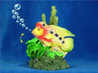 Action Aquarium Bubblers Parrot Fish