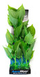 Deluxe Bunch Silk Plant 16inch Green Wide Leaves