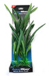 Deluxe Bunch Silk Plant 16inch Ribbed Slim Leaves