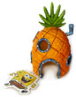 Penn-Plax Spongebob Squarepants Resin Replica Spongebob Pineapple Home