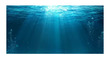 Underwater Rays Poster Background  for Aquarium Terrarium Vivarium