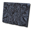 Resin Moulded 3D Background Volcanic (R-32-5)